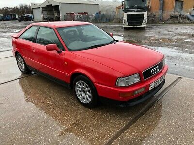 1993 Audi 80 Coupe 2.6 V6 Manual Red