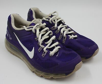 purchase cheap 9480a 52d78 Nike Air Max Girls Youth Purple Running Training Sneakers Shoes Size 4Y