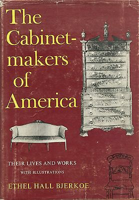 American Antique Furniture Cabinetmakers - Names Bios Dates Locations Etc / Book