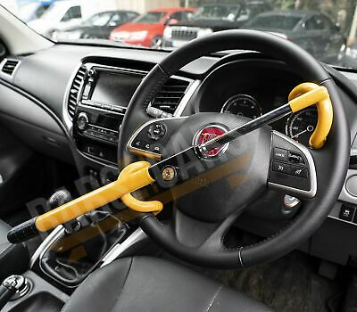Anti Theft Double Hook Security Steering Wheel Lock for Ford Fiesta 14-On
