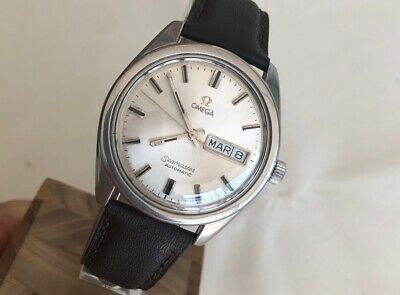 OMEGA SEAMASTER DATE-DAY 36mm AUTOMATIC Cal. 752 Ref. 166.032 STEEL MEN WATCH