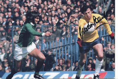 GORDON BANKS Signed In Person 12x8 Photo WORLD CUP 1966 COA