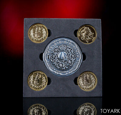 John Wick 2 Blood Oath Marker and 4 Coin Replica Prop Set