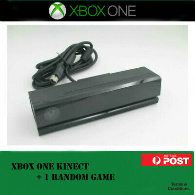 Microsoft Xbox One Kinect Sensor Xb1 + 1 Kinect Playable Game ▪ Fast Shipping