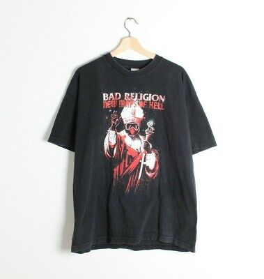 Bad Religion New Maps of Hell T Shirt Alstyle 100% cotton Size XL