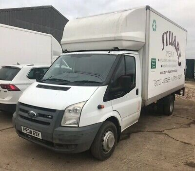 Ford Luton Van with Tail Lift. 2008