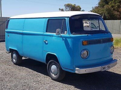 1977 Volkswagen Kombi Panel Van 2.0L Engine Aircon Drives Damaged Restoration