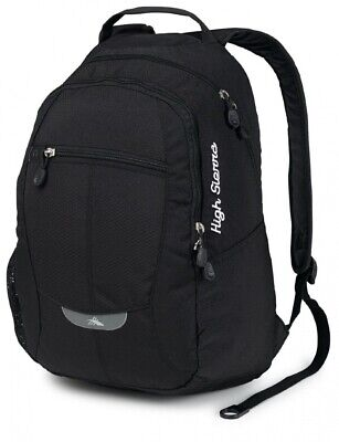 (Black/Black/Black) - High Sierra Curve Backpack. Delivery is Free