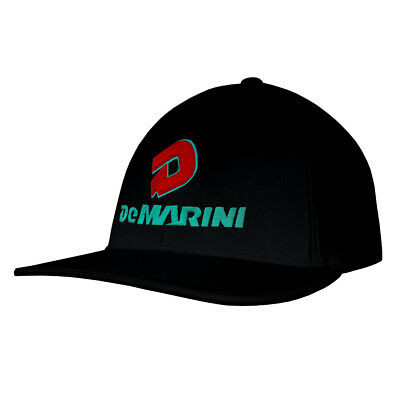 DeMarini Stacked D Baseball/Softball Trucker Hat - Black/Red/Teal - Large/XL