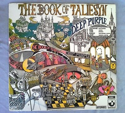 Deep Purple, The Book of Taliesyn, Vinyl LP, EMI, Harvest, SHVL 751