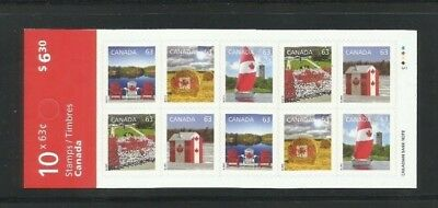 #2697a  Canadian Pride Booklet 567   MNH