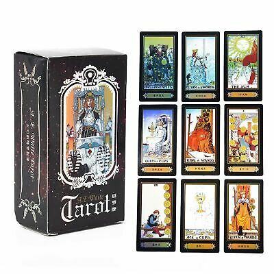 78 Pcs Tarot Deck Cards Read The Mythic Fate Divination For Fortune Card Games