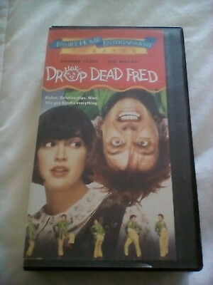 DROP DEAD FRED (1991) Phoebe Cates & Nik Mayall VHS Rare OOP HTF Free Shipping
