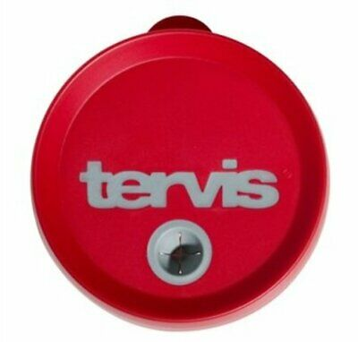 Tervis Straw Lid Red/Gray 16 Oz