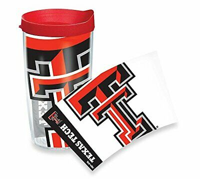 Tervis Texas Tech Red Raiders 16-Ounce Wrap Tumbler with Red Lid