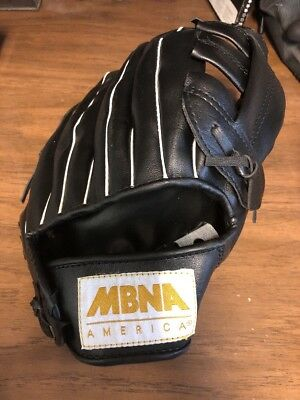NEW YORK METS Baseball Glove by MBNA America (Promotional Use Only)