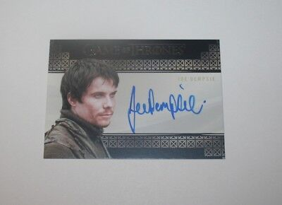 Game of Thrones Season 7 Gendry Joe Dempsie Valyrian Steel Auto Archive Only