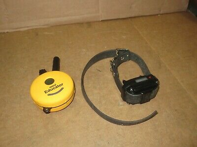 Mini Educator ET-300 Dog Trainer Transmitter + Collar - NO CHARGER