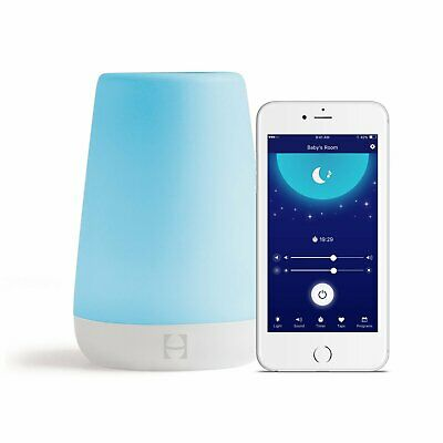 Hatch Baby Rest Night Light Sound Machine and Time to Rise Customize Color