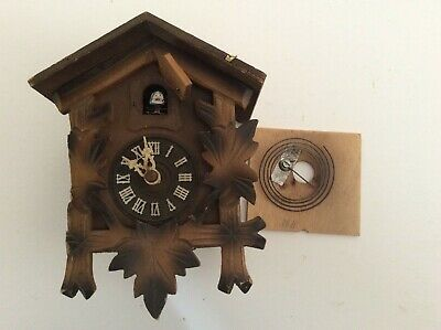Cuckoo Clock With Movement For Parts Or Repair