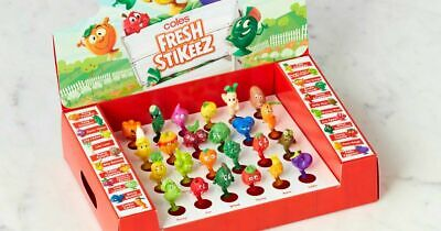 Coles Fresh Stikeez - Select your own - UPDATED 18/2