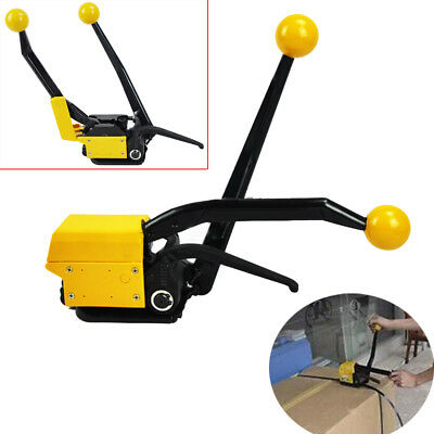 """A333 Manual Steelless steel Strapping Tool Machine FIT Width 1/2""""-3/4"""" Straps CE"""