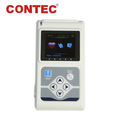 TLC5000 CONTEC 24h recorder 12-channel Holter ECG Monitor, PC software Analysis