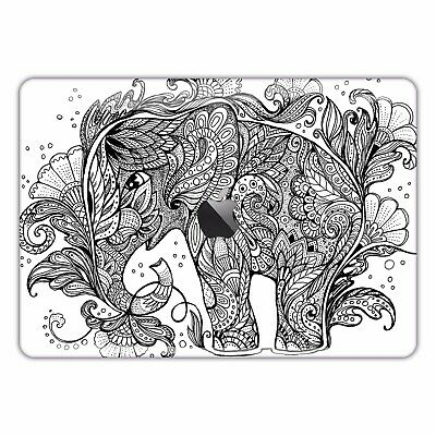MacBook Decal Mandela Pro Skin Sticker Cover Air 13 Vinyl Boho Elephant FSM157
