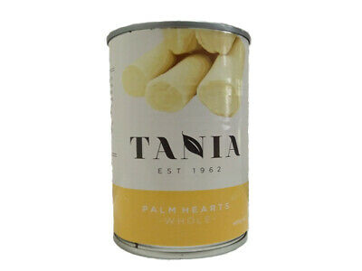 Tania Hearts of Palm Palmitos Premium Whole in Tin 400g