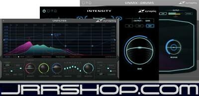 Zynaptiq Master Bundle: Intensity, UNMIX::DRUMS, and UNFILTER eDelivery JRR Shop