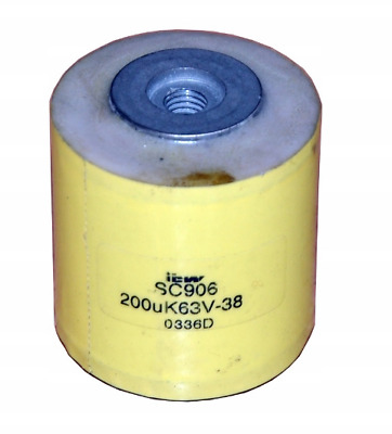 Low-impedance capacitor SC906 200uF /1A E 0286