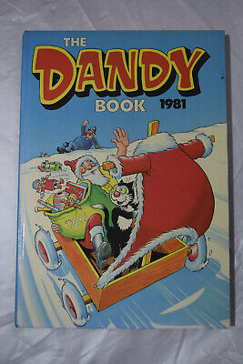 Vintage The Dandy Book Annual 1981. Excellent Condition