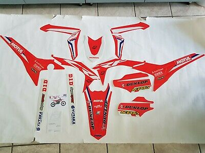 Kit Adesivi Grafiche Stickers Graphics Blackbird Honda Crf 450 2015