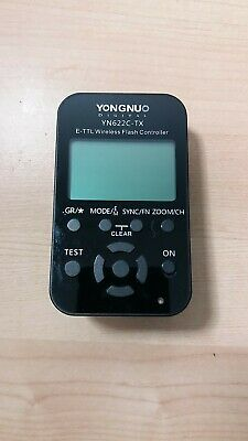 YONGNUO YN-622C-TX LCD Flash Transmitter for YN-622C Trigger for Canon DSLR Came