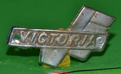 Vintage bicycle - plate   Manufacturers logo - VICTORIA / 5065