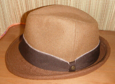 27a5cc267ed NEW STETSON 150TH ANNIVERSARY wool blend tweed FEDORA Hat size LARGE ...
