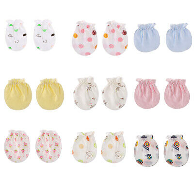 Cotton  Handguard  Newborn Mittens Face Protection  Baby Gloves Anti Scratch