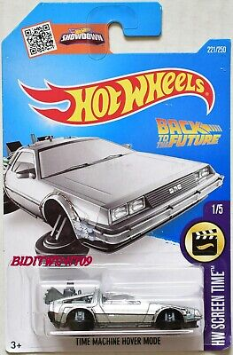 Hot Wheels 2016 Back To The Future Delorean Time Machine Hover Mode