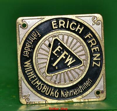 Vintage bicycle - plate   Manufacturers logo - E.F.M. / 5058