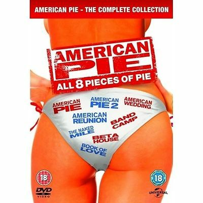 American Pie - 1-8 - Complete (DVD, 2012, 8-Disc Set, Box Set)