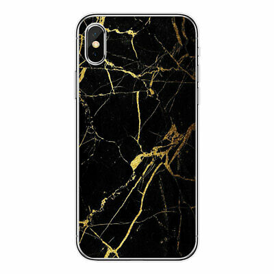 For Iphone 5 5S SE Marble Crack Pattern Ultra Thin Soft Rubber Phone Case Cover