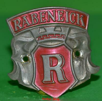 Vintage bicycle - plate   Manufacturers logo - RABENEICK / 5054