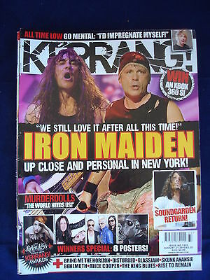 Kerrang - 1326 - August 21 2010 - Iron Maiden