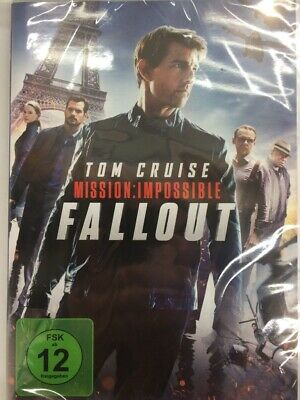 Mission: Impossible 6 - Fallout, DVD,NEU&OVP