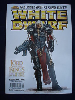 Games Workshop - White Dwarf - Issue WD293