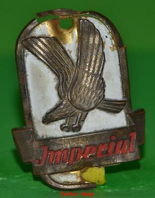 Vintage bicycle - plate   Manufacturers logo - IMPERIAL / 5045