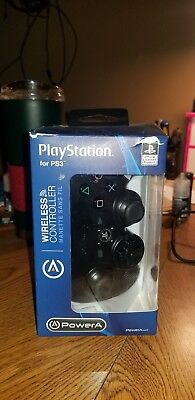 Power A Wireless PS3 Controller (PlayStation 3) - Black (1427441)™