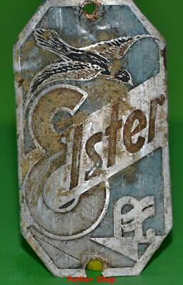 Vintage bicycle - plate   Manufacturers logo-Ister/5011