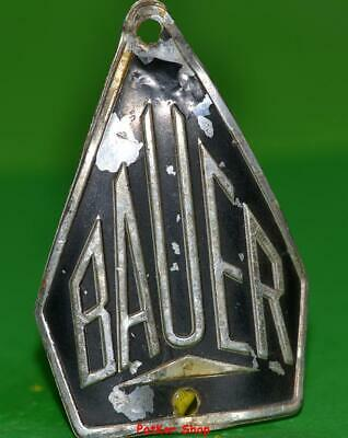 Vintage bicycle - plate   Manufacturers logo - BAUER / 5036