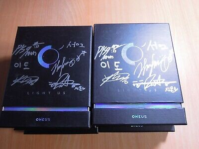 ONEUS - LIGHT US (1st Mini promo) with Autographed (Signed)